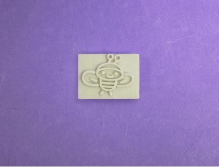 """Штамп для мыла с нуля """"Пчелка"""""""