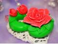 """Силиконовая форма для мыла """"8 -ка с розами """" 2D"""