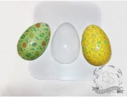 """Форма пластиковая для мыла """"Пасхальное яйцо"""" под картинку"""