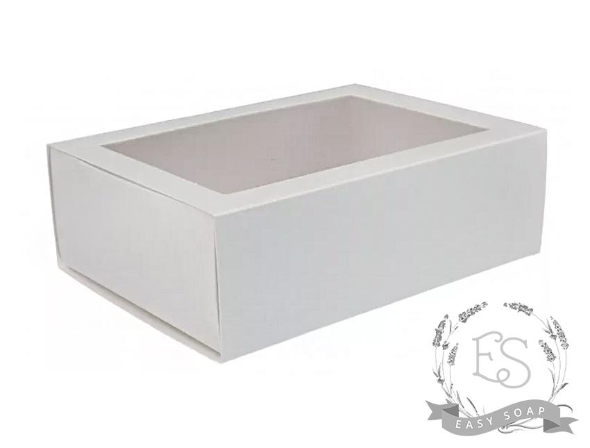 Коробка-пенал выдвижная 115*155*50 белая