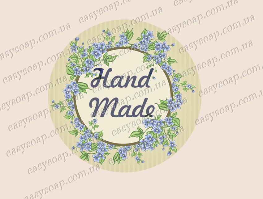 """Набор наклеек """"Hand Made"""" 24 шт."""
