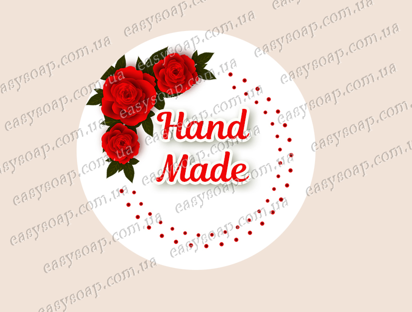 """Набор наклеек """"Hand Made - 2"""" 24 шт."""