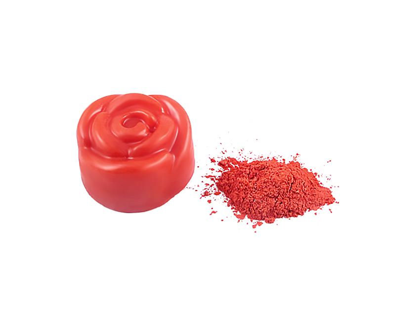 Пигмент перламутровый красный
