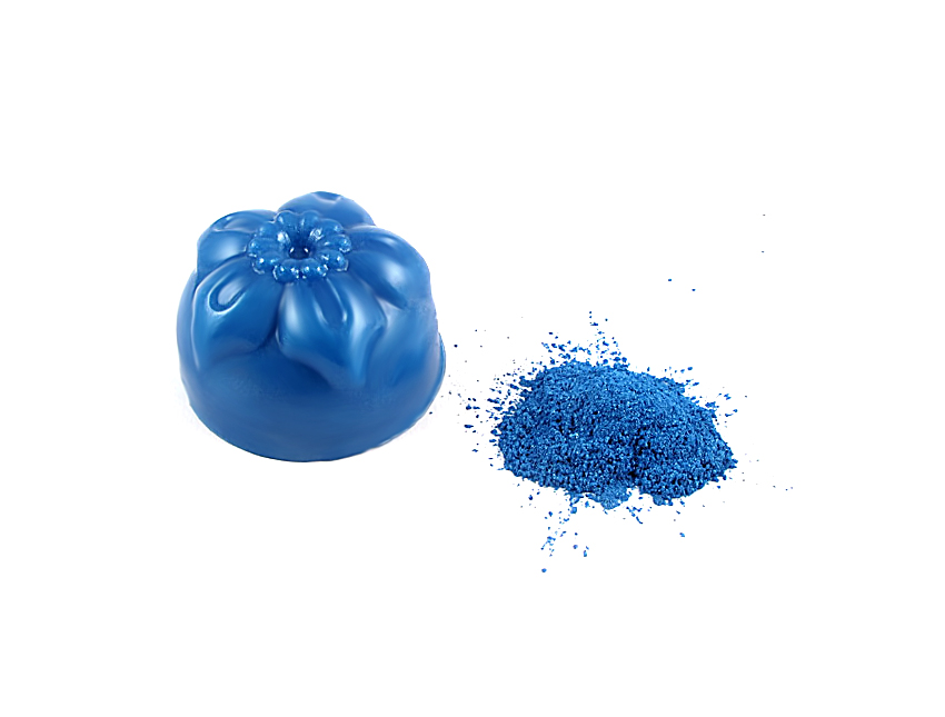 Пигмент перламутровый синий