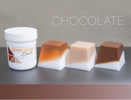 Пигмент коричневый ZENICOLOR solo, Chocolate, (Словакия)