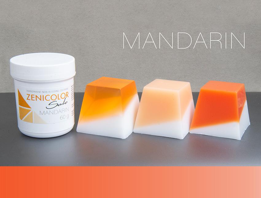 Пигмент оранжевый ZENICOLOR solo, Mandarin, (Словакия)
