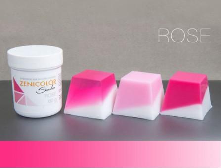 Пигмент розовый ZENICOLOR solo, Rose, (Словакия)