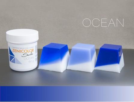 Пигмент синий ZENICOLOR solo, Ocean, (Словакия)