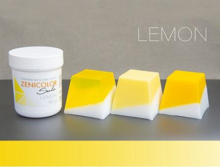 Пигмент желтый ZENICOLOR solo, Lemon, (Словакия)