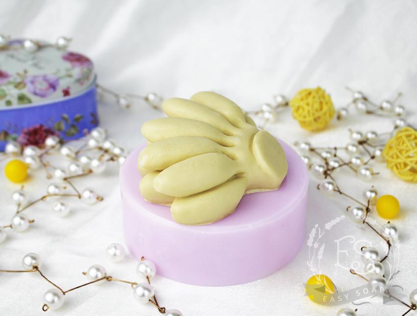 """Силиконовая форма для мыла """"Бананы мини """" 3D"""