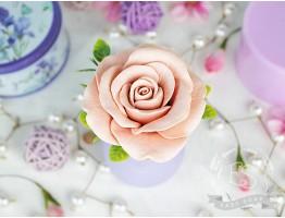 """Силиконовая форма для мыла """"Роза Фламинго"""" 3D"""