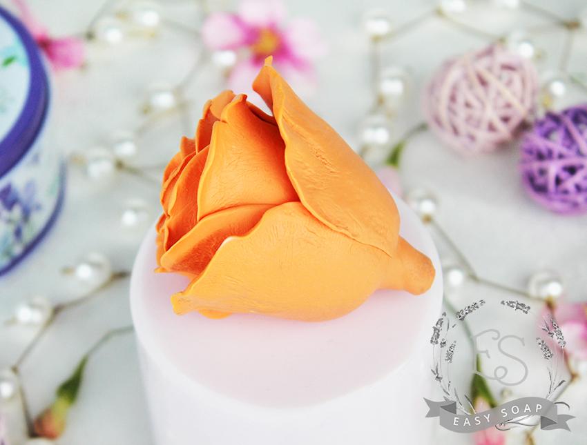 """Силиконовая форма для мыла """"Роза Верано"""" 3D"""