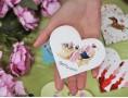 Открытка-мини сердце ассорти №8