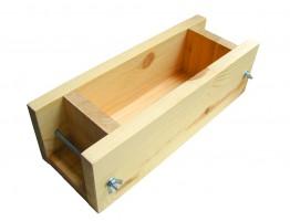 Деревянная форма для мыла на 1 кг из сосны