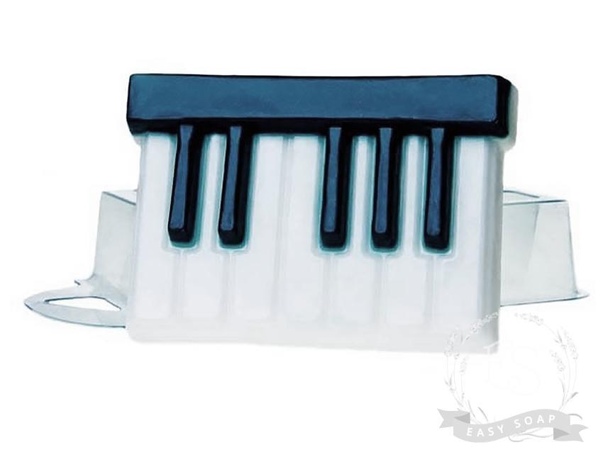 """Форма пластиковая для мыла """"Клавиши"""""""
