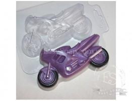 """Форма пластиковая для мыла """"Мотоцикл"""""""