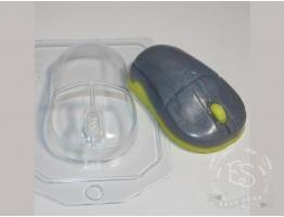 """Форма пластиковая для мыла """"Мышь компьютерная"""""""