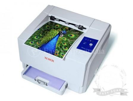 Печать на водорастворимой бумаге