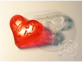 """Форма пластиковая для мыла """"Влюбленность"""""""