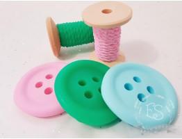 """Силиконовая форма для мыла """"Катушка ниток"""" 3D"""