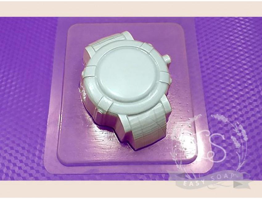 """Форма пластиковая для мыла """"Часы наручные"""" спортивные"""
