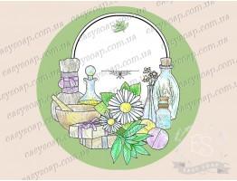 Этикетка для косметики №1_для надписей