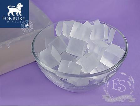 Мыльная основа прозрачная Super Clear (FORBURY, Англия), SLS Free, Vanilla Stable