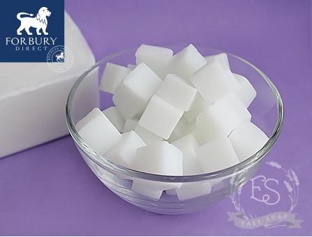 Мыльная основа белая White (FORBURY, Англия), SLS Free, Vanilla Stable