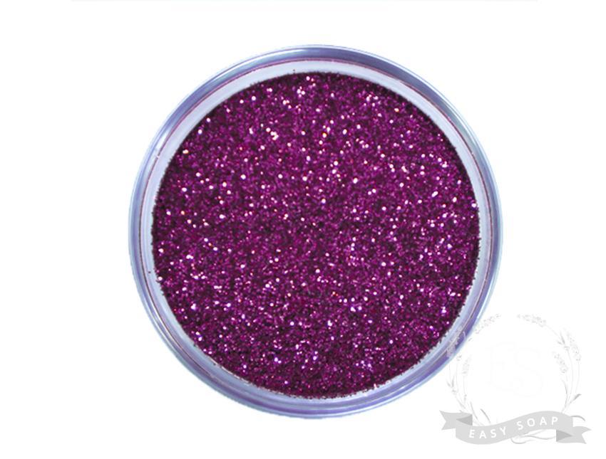 Глиттер пурпурный