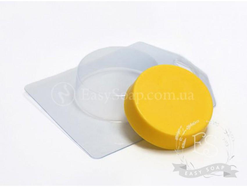 """Форма пластиковая для мыла """"Круг"""" средний"""
