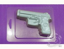 """Форма пластиковая для мыла """"Пистолет"""""""