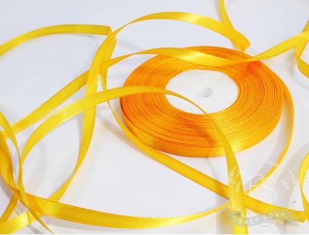 Лента атласная желтый грушевый 6мм