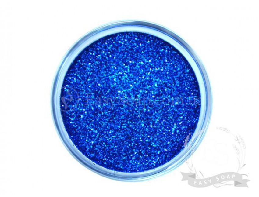 Глиттер синий