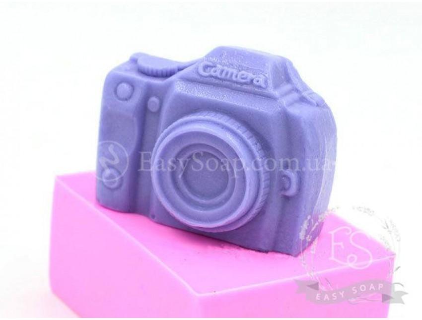 """Силиконовая форма для мыла """"Фотоаппарат"""" 2D"""