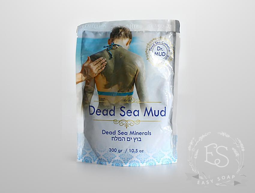 Натуральная грязь Мертвого моря без добавок, Dr.Mud, Израиль
