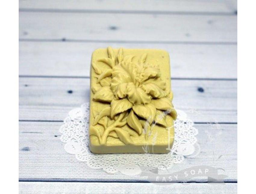 """Силиконовая форма для мыла """"Гибискус"""" 2D"""