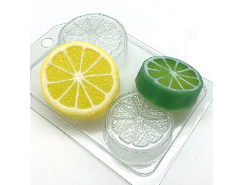 """Форма пластиковая для мыла """"Цитрус"""" мини"""