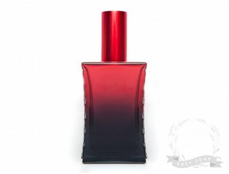 """Флакон парфюмерный - спрей """"Дали"""" 50 мл черно-красный"""