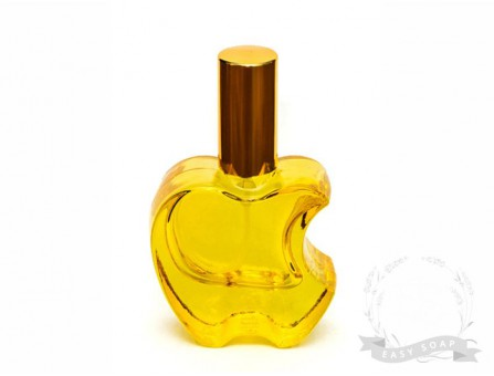 "Флакон парфюмерный - спрей ""Apple"" 15 мл желтый"