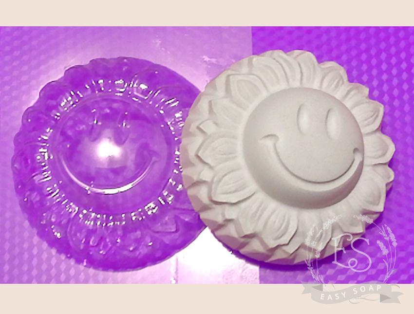 """Форма пластиковая для мыла """"Смайлище"""""""