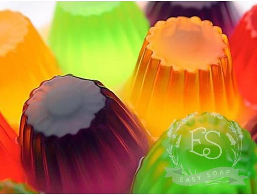 Основа для мыла желеобразная Crystal Jelly Soap (Англия)