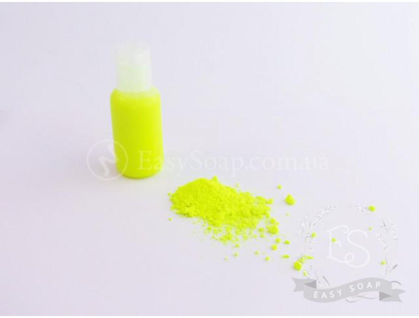 Пигмент неоновый желтый (жидкий)