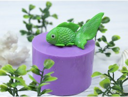 """Силиконовая форма для мыла """"Рыбка"""" 3D"""