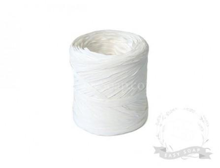 Лента рафия белая