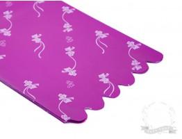 Пакет упаковочный с подложкой 20*30 см (фиолетовый)