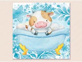 Картинка на водорастворимой бумаге №261085 - 6.5x6.5 см