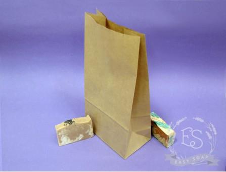 Крафт-пакет с дном широкий