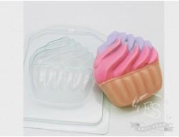 """Форма пластиковая для мыла """"Мороженое/ Мягкое в корзинке"""""""