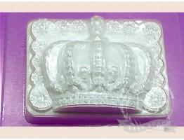 """Форма пластиковая для мыла """"Корона"""""""