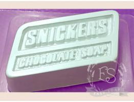 "Форма пластиковая для мыла ""Сникерс"""